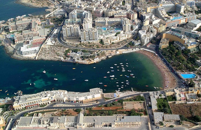 St Georges Bay Hotel Malta