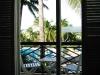 Balcony of resort