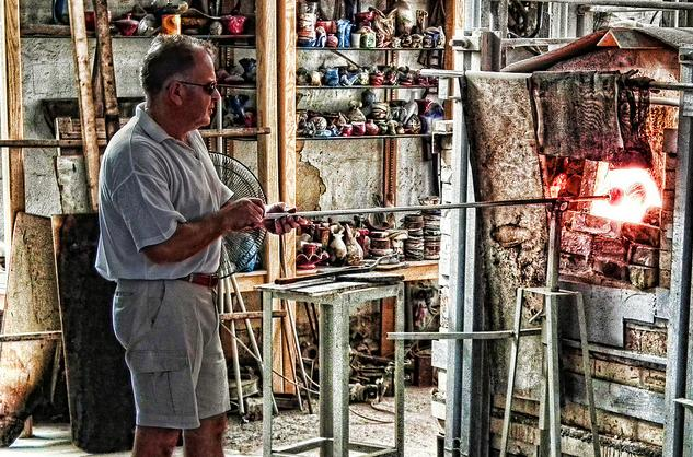 glass blowing malta