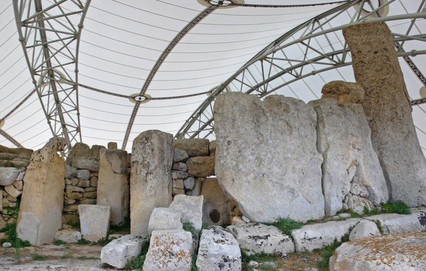 Malta Hagar Qim temples