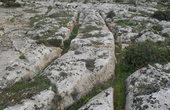 Malta's Cart Ruts