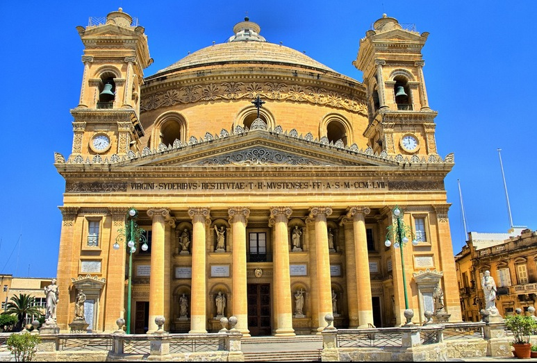 Mosta Dome Exterior Malta