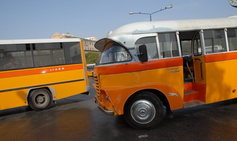 Old bus Malta