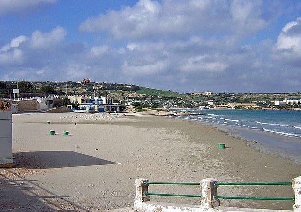 Mellieha Bay Beach