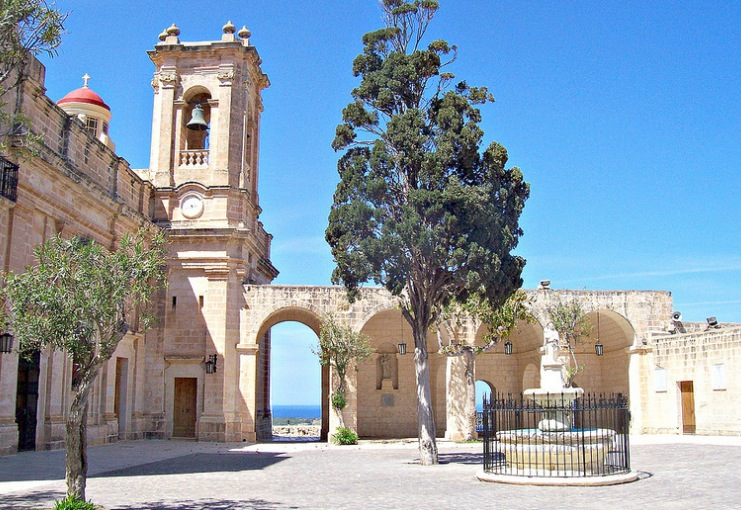 The Sanctuary of Our Lady of Mellieha Malta